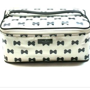 Kate Spade Large Colin Tuxedo Court Cosmetic Bag